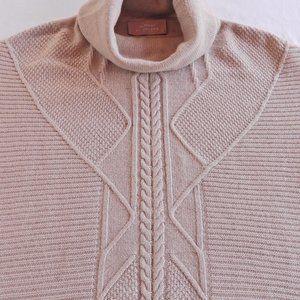 Large turtleneck sweater